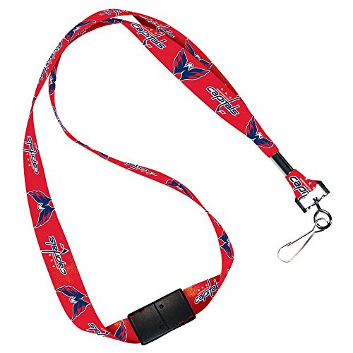 Washington Capitals Lanyard - NHL Washington Capitals Lanyard with Breakaway, 3/4
