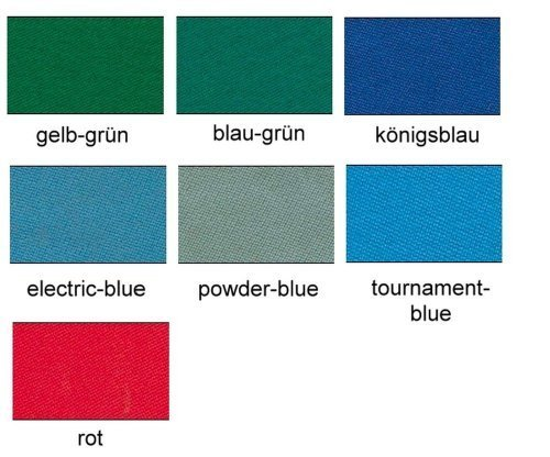 Simonis 760 Billardtuch, 165cm, Preis pro lfdm, Farbe:03 - königsblau