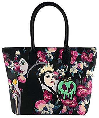 Loungefly x Disney Villains Floral Tote Bag (One Size, (Disney Tote Bag)