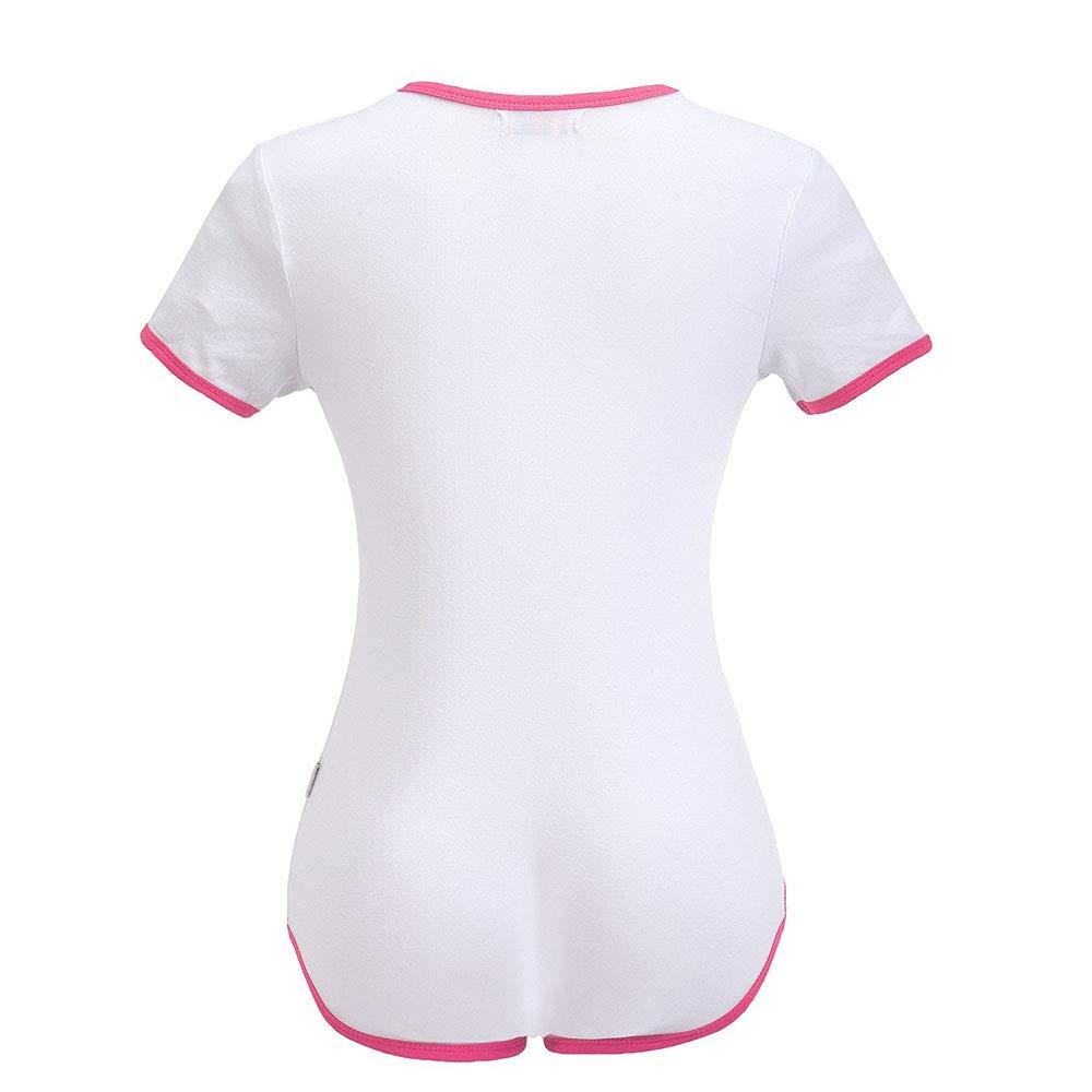 Amazon.com: DDLG - Pajamas para adulto, diseño con texto en ...