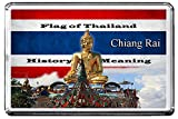 CHIANG RAI FRIDGE MAGNET F004 THE CITY OF THAILAND REFRIGERATOR MAGNET