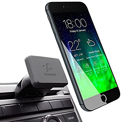 Koomus Pro CD-M Universal CD Slot Magnetic Cradle-less Smartphone Car Mount Holder for all iPhone and Android Devices from Koomus