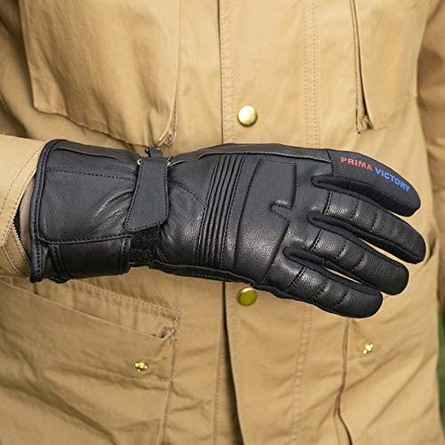 LEO All-Season All Purpose Cowhide Leather Gloves with EASA Foam Padded Knuckles