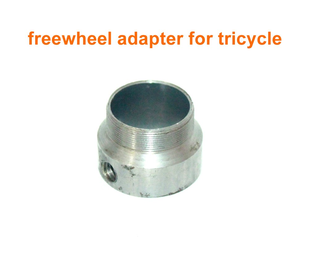 DIY Bike Spare Freewheel Adapter Tricycle No Teeth Flywheel Connector The Part Between Two Freewheel Of 34mm Thread (21mm)