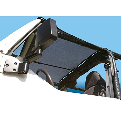 VDP KoolBreez Brief Black TJ Jeep Sun Screen Top