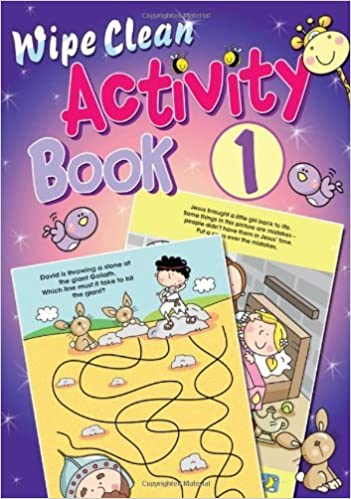 Book Wipe Clean Activity Book: Bk. 3 (Wipe Clean Activity Books) by Juliet David (Illustrated, 17 Jun 2011)