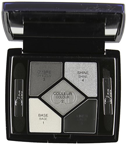 Christian Dior 5 Color Designer All in One Artistry Palette for Women, No. 008 Smoky Design, 0.15 Ounce by Dior