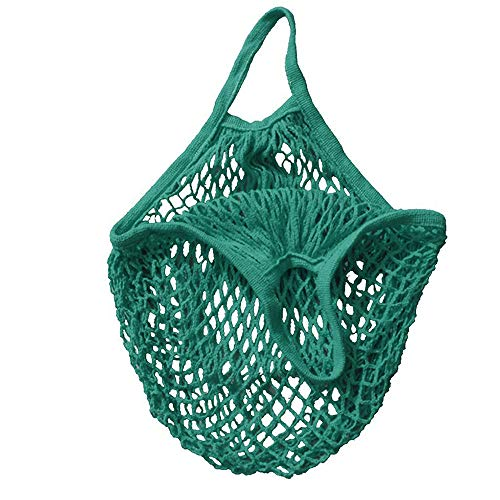 Mesh Bag Shopping Bag Reusable Fruit Storage Handbag Totes New Mallcas Short Portable Convenient Shopping net Bag from MALLCAS-household supplies
