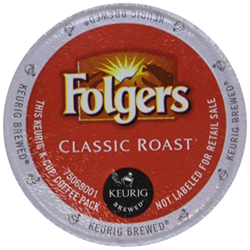 48 Count - Folgers Gourmet Selections Classic Roast Coffee For Keurig Brewers (Classic Gourmet Coffee)