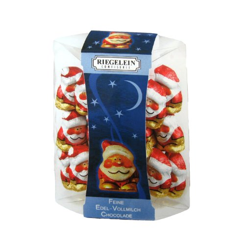 Riegelein Chocolate Santa Minis Gift Box 100g