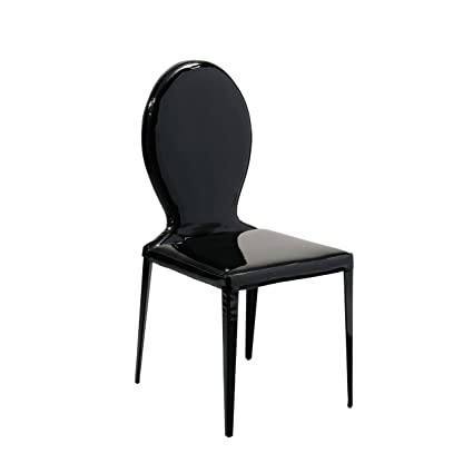 Prime Premier Housewares Dining Chair Patent Leather Effect Louis Gamerscity Chair Design For Home Gamerscityorg