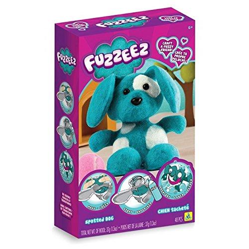 Fuzzeez 10012646 Orb Dog, Blue White
