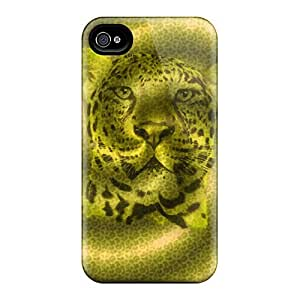 New Style Phone Case Hard Case Cover For Iphone 4/4s- Leopard