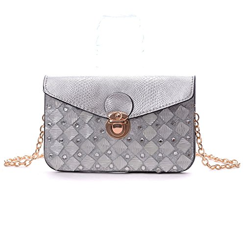 Quilted Envelope Clutch - 8