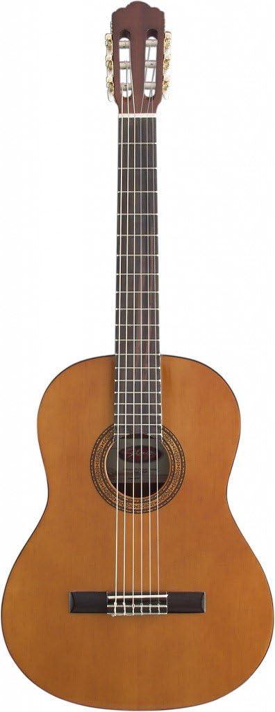Stagg C547 - Guitarra clásica de concierto (4/4), color natural