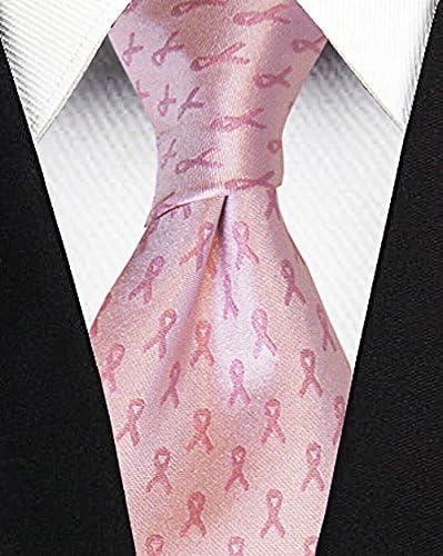 Corbata para la conciencia con el cáncer de mama - Lazo rosa ...