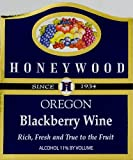 NV Honeywood Winery Blackberry Fruit Wine 750 mL