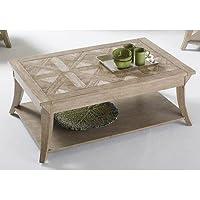 Progressive Furniture T358-01 Appeal l Rectangular Cocktail Table l, Brown