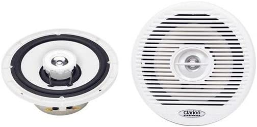 Clarion CM 1625 Marine 2-vie coassiale e sistema altoparlante 16,5 cm, 100 W
