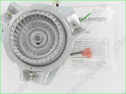 Draft Inducer Assembly - Carrier Bryant 326628-762 Inducer Motor Assembly Kit
