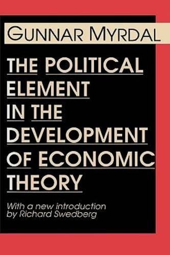 Books : The Political Element in the Development of Economic Theory