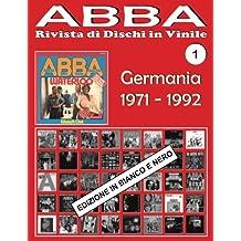 Abba - Rivista Di Dischi in Vinile: Germania 1971-1992 - Bianco E Nero