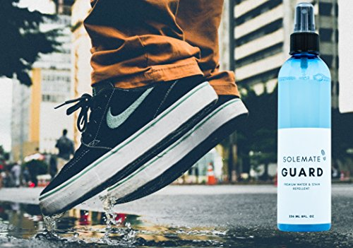 Solemate Guard - Premium Water & Stain Repellent - Waterproof and Protect Suede, Leather, Nubuck, Fabric, Nylon, Polyester & More - Sneakerhead Protector for All Sneakers, Shoes, Boots, Accessories by Solemate (Image #3)
