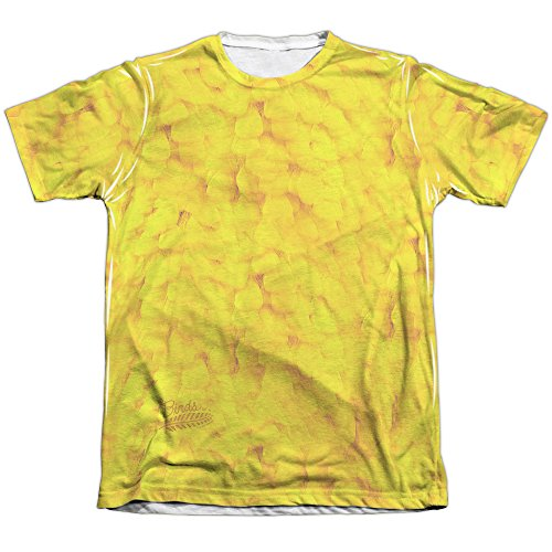 A&E Designs Big Bird Costume Sublimation Tee Shirt (Front & Back), Large ()
