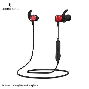 Auriculares Bluetooth, MroTech Auricular Inalámbrico con Micrófono para los deportes / carrera / gimnasia, Noise Canceling CVC 6.0, IPX4 Waterproof ...