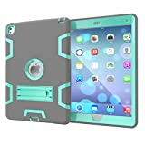 """Beimu For iPad Pro 9.7"""" Case, iPad Air 2/iPad 6 Case,3in1 Full-body Heavy Duty Armor Defender Shock-Absorption / High Impact Resistant Silicone with Built-in Kickstand for iPad Pro/iPad Air 2"""