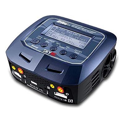 SKYRC D100 V2 AC/DC 2 x 100W Dual LiPo Balance Charger: Toys & Games
