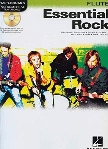 Hal Leonard Classic Rock Flute (ESSENTIAL ROCK FLUTE BK/CD   INSTRUMENTAL PLAY-ALONG (Hal Leonard Instrumental Play-along))