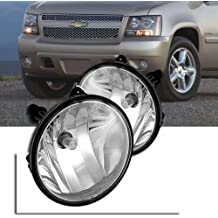 Remarkable Power FL7074 - Clear Bumper Fog Lights Only for Chevy/Ford/GMC/Pontiac