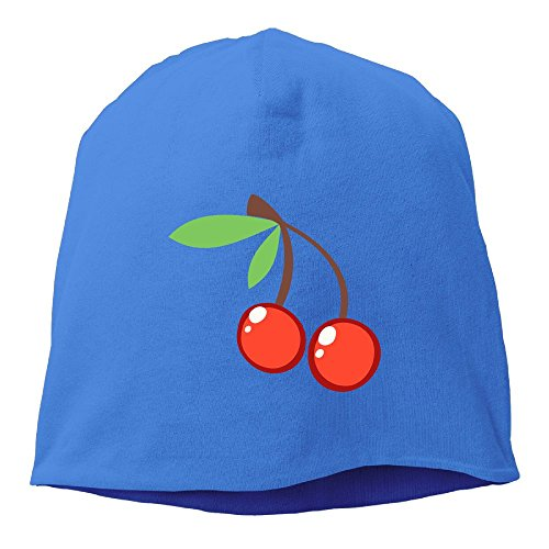 DMN Fashion Solid Color Red Cherry Headband For Unisex Royalblue One - Arbor Shopping Ann In