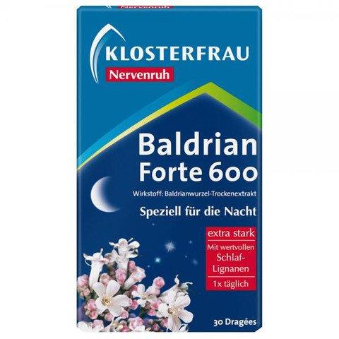 1 x Klosterfrau Baldrian Forte -30 pills