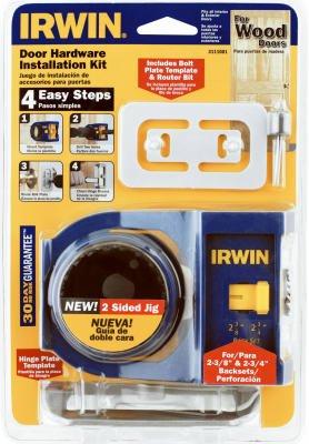 Irwin 3111002 Door Lock Installation Kit ()