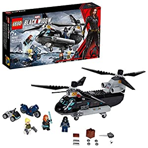 LEGO 76162 Black Widow's Helicopter...