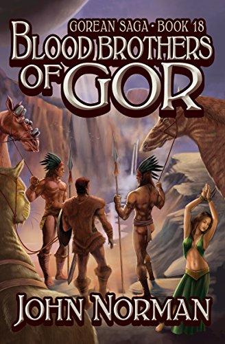 Amazon Blood Brothers Of Gor Gorean Saga Book 18 Ebook John