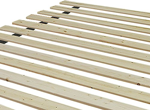 Classic Brands Heavy Duty Wooden Bed Slats Bunkie Board