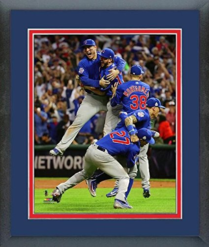 Chicago Cubs 2016 World Series Celebration Photo (Size: 12.5