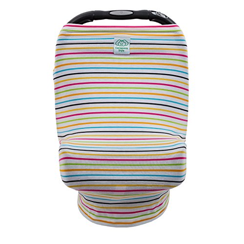 Baby Car Seat Canopy Shopping Cart and Nursing Cover Stretch