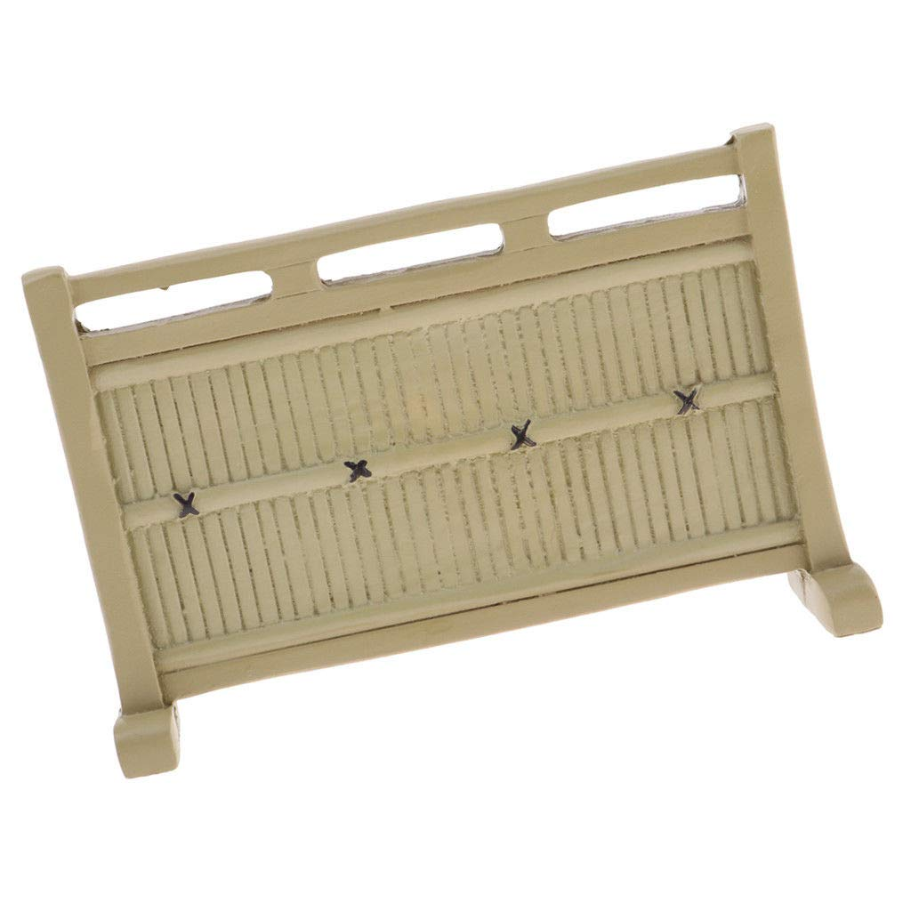 1:12 Dollhouse Miniature Mini Wooden Door DIY Furniture Accessory HF