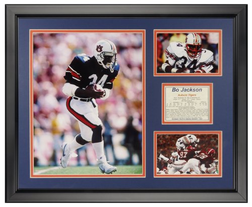 Legends Never Die Bo Jackson - Auburn Framed Photo Collage, 16