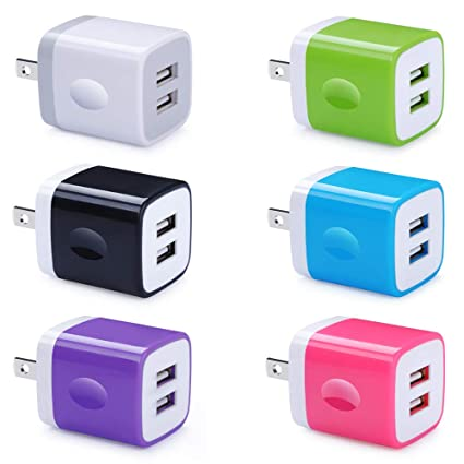 Amazon.com: UorMe - Cargador de pared USB compatible con ...