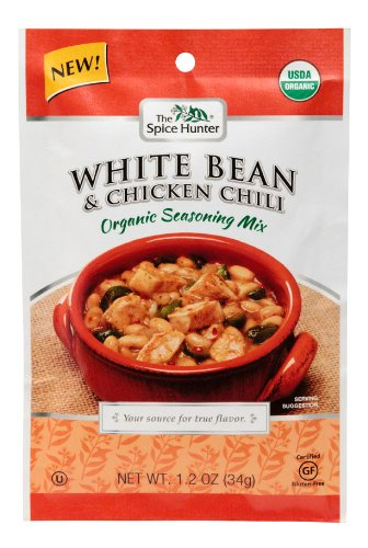 Spice Hunter Mix Chili White Bean & Chicken, 1.2 Oz, Case of 12