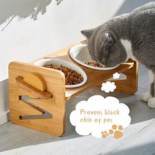 VODESON Gamelle surélevée pour chats et petits