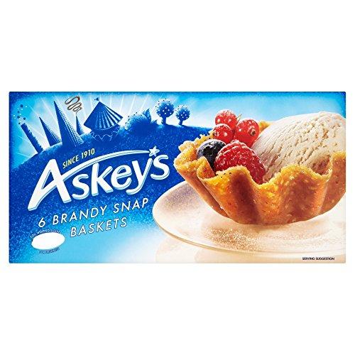 Brandy Snaps - Askeys Brandy Snap Baskets