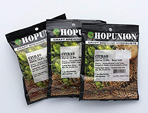 Home Brew Ohio 3 oz Citra Hop Pellets (Hop Flavor And Aroma)