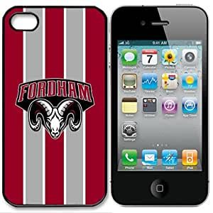 NCAA Fordham Rams Iphone 4 and 4s Case Cover