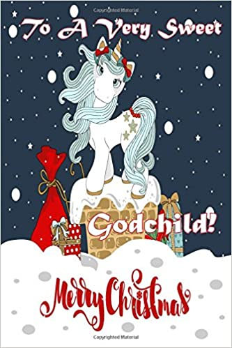 To A Very Sweet Godchild! Merry Christmas (Coloring Card): Holiday ...